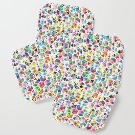 Cuben Colour Craze Coaster