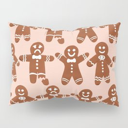 Gingerbread Men – Blush Palette Pillow Sham
