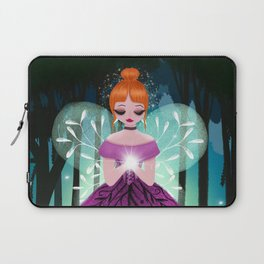 In The Ancient Forest The Woodland Fairy Walks Laptop Sleeve