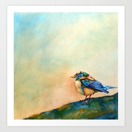 Colorful Bird Art Print