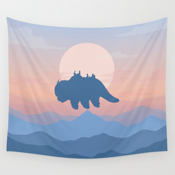 Appa Avatar: The Last Airbender Wall Tapestry