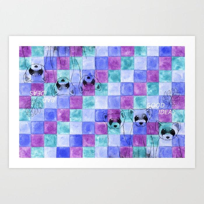 Wall Art Ideas Black And Purple