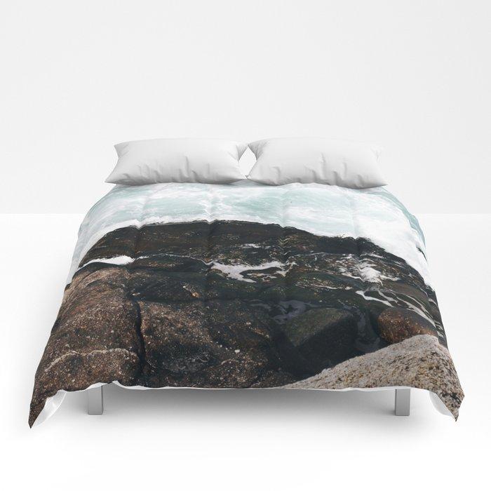 The Ocean Calls (Spring) Comforters