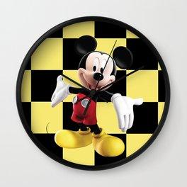 Mickey Mouse III Wall Clock
