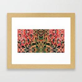 Chaos Framed Art Print