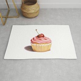 The Perfect Pink Cupcake Rug