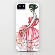 Dior Couture 2008 // Fashion Illustration Slim Case iPhone (5, 5s)