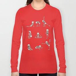 Skeleton Yoga Long Sleeve T-shirt