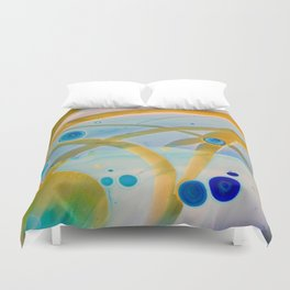 Streamer II Duvet Cover