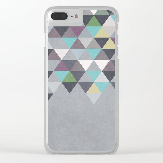 Nordic Combination 7 Clear iPhone Case