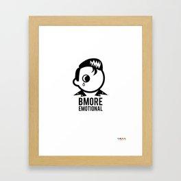 Bmore Emotional Framed Art Print