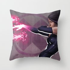 Psylocke Throw Pillow