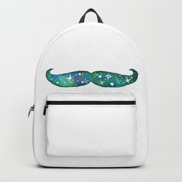 Eco Green Space Mustache Backpack