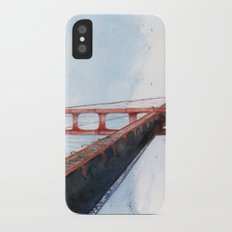 Golden Gate Bridge iPhone X Slim Case