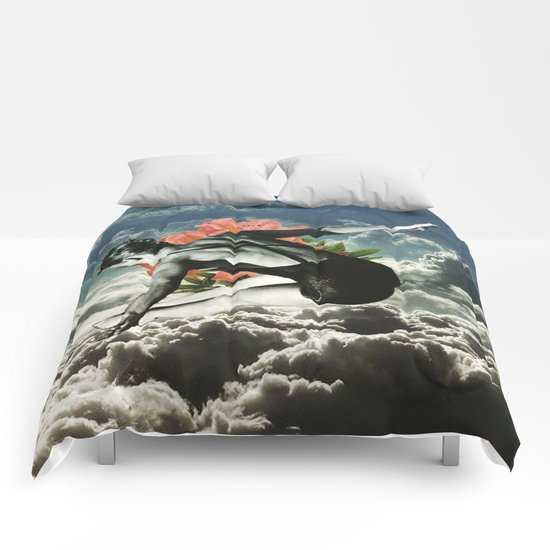 Lost In The Clouds Comforters