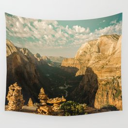 Zion Mornings - National Parks Nature Photography Wall Tapestry