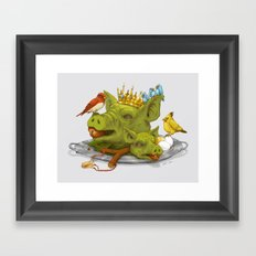 Furious Fowl Framed Art Print