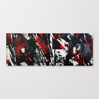 equality Canvas Prints featuring Equality by Taylor Callery Illustration