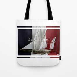 Le Coureur, 250 years Tote Bag