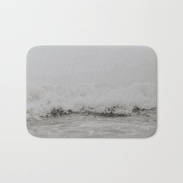 waves viii / portugal Bath Mat