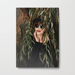 Transition from Summer to Winter Metal Print