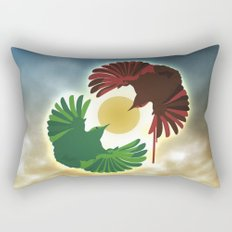 Wrens Rectangular Pillow