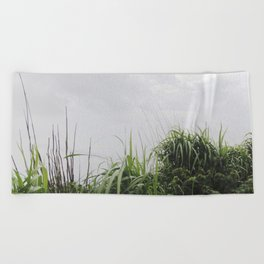 Nostalgia-Home Grass Beach Towel