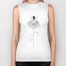 Chrysanthemum Moments Biker Tank