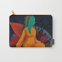 Fantasy Girl Autumn Fairy Digital Illustration Carry-All Pouch