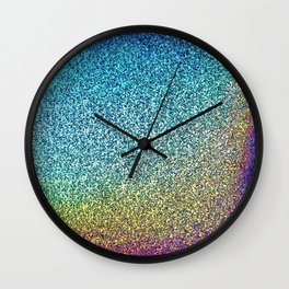 HoloGrains Wall Clock
