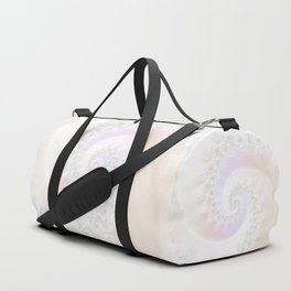Ocean Treasure -- Mother of Pearls Mandelbrot Duffle Bag