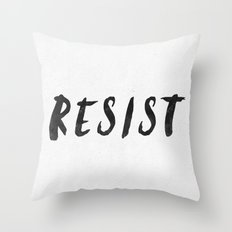 RESIST 4.0  #resistance Throw Pillow