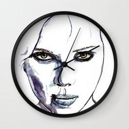 Lucy - Scarlett Johansson  Wall Clock