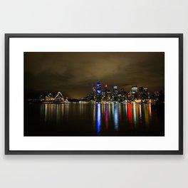 Sydney Cityscape Framed Art Print