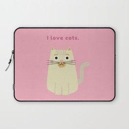 I LOVE CATS Laptop Sleeve