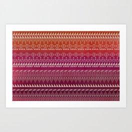 Raspberry EDGE  Art Print