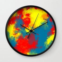 Paint Ballin' Wall Clock
