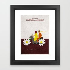 Harold and Maude Framed Art Print