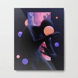 Dazzled Metal Print