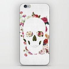 Skull Grunge Flower 2 iPhone & iPod Skin