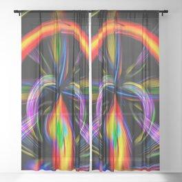 Abstrakt - Perfektion 51 Sheer Curtain