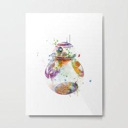 BB8 Metal Print