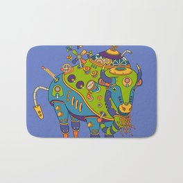 Bison, cool wall art for kids and adults alike Bath Mat