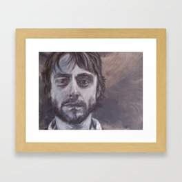 John Framed Art Print