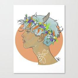Oberon King of The Fairies Canvas Print