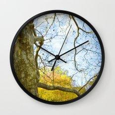Oak Run Wall Clock