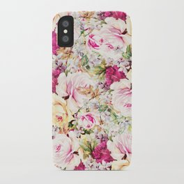 carpet of roses iPhone Case