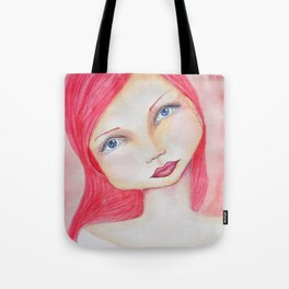 Bella SASS Girl - Rose - SASS = Strong and Super Smart Tote Bag