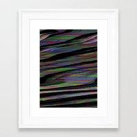 glitch Framed Art Prints featuring Glitch by DDANIELL