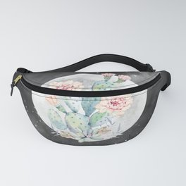 Cactus Nights Prettiest Cactus Full Moon by Nature Magick Fanny Pack